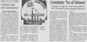 Articolo della Gazzetta di Mantova del 07-08-2009