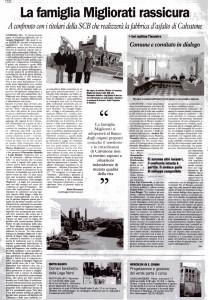 la cronaca 13 febbraio 2010