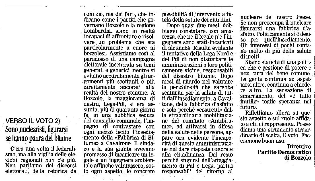 GAZZETTA 27-03-10