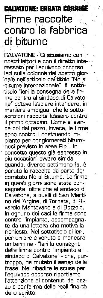 LA CRONACA 28-03-10